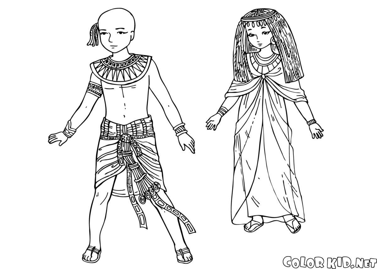 Crianças do Antigo Egito