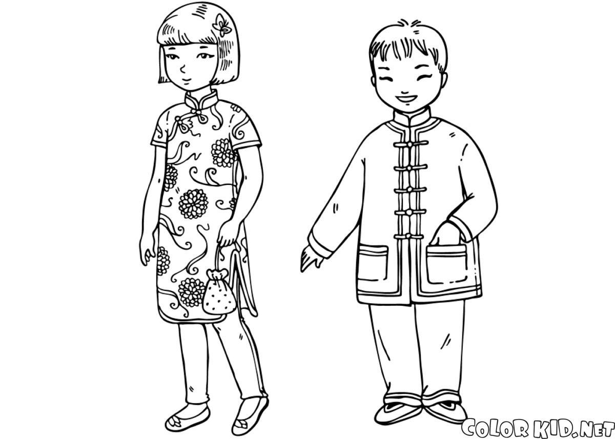 Crianças chinesas