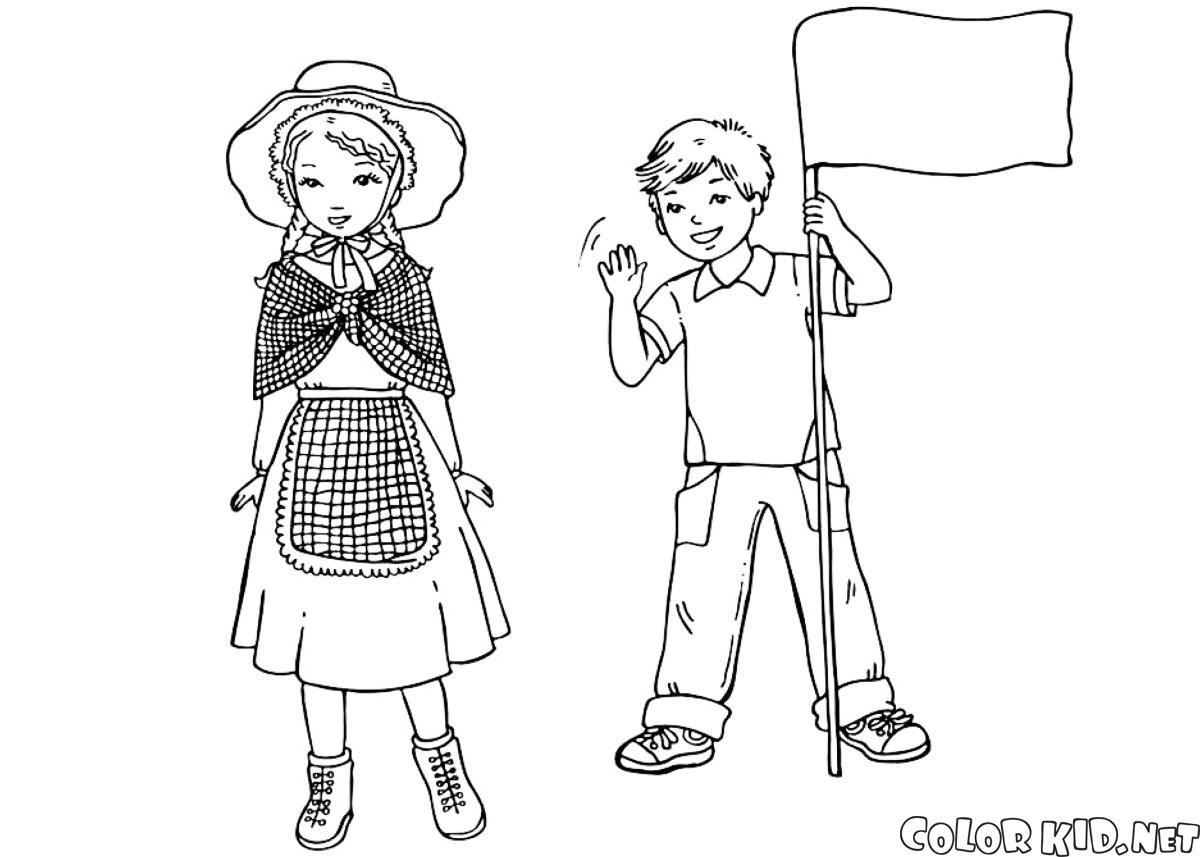 Crianças inglesas