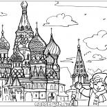 O templo no Kremlin
