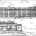 Palácio de Inverno em São Petersburgo