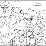 As esculturas de Mount Rushmore